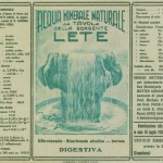 Le Origini La comunicazione dei primi del 900 di Acqua Lete (2)