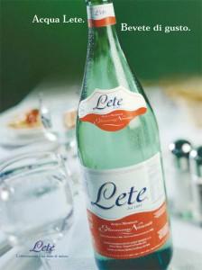Stampa - Comunicazione 2001 2003 - Acqua Lete (1)